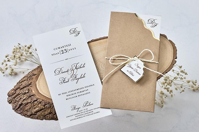Luxury Wedding Invitation Card 1169